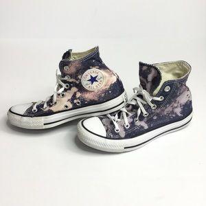 Splatter Converse High top all star chuck Taylors